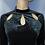 Thumbnail: Velvet Mock neck Long Sleeve Dress