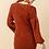 Thumbnail: Puff Sleeve Knit Sweater Dress