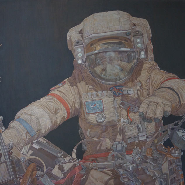Callsign Pulsar.120x160.tempera on canvas. 2017