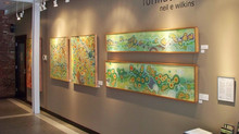 Neil Wilkins Formations Art Exhibit at Firehouse Center Newburyport July 3-28th