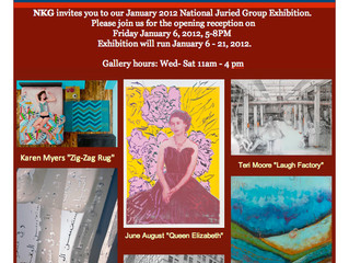 NK Gallery Boston, National Juried Exhibition