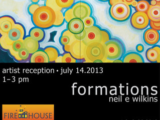 Firehouse Solo Exhibit, Formations July 3-28th