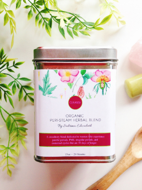 CLEANSE: Organic Herbal Blend for Pelvic Steaming