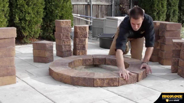 How to Build a Serafina Fire Pit