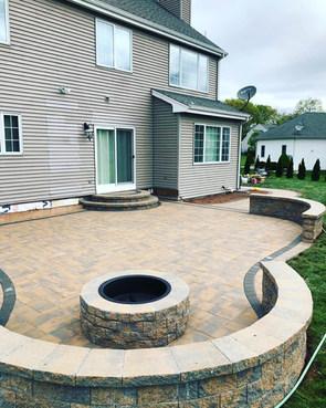 Adobe Blend Backyard Living Area