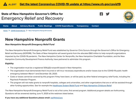 New Hampshire Nonprofit Grants