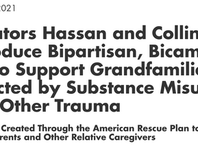Senators Hassan and Collins Introduce Bipartisan Bill to Support Kinship Families