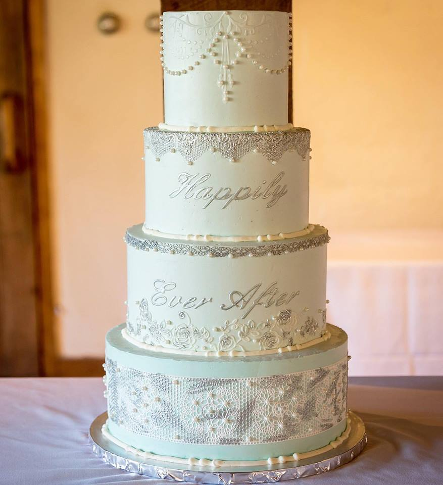 Rustic Disney Wedding Cake