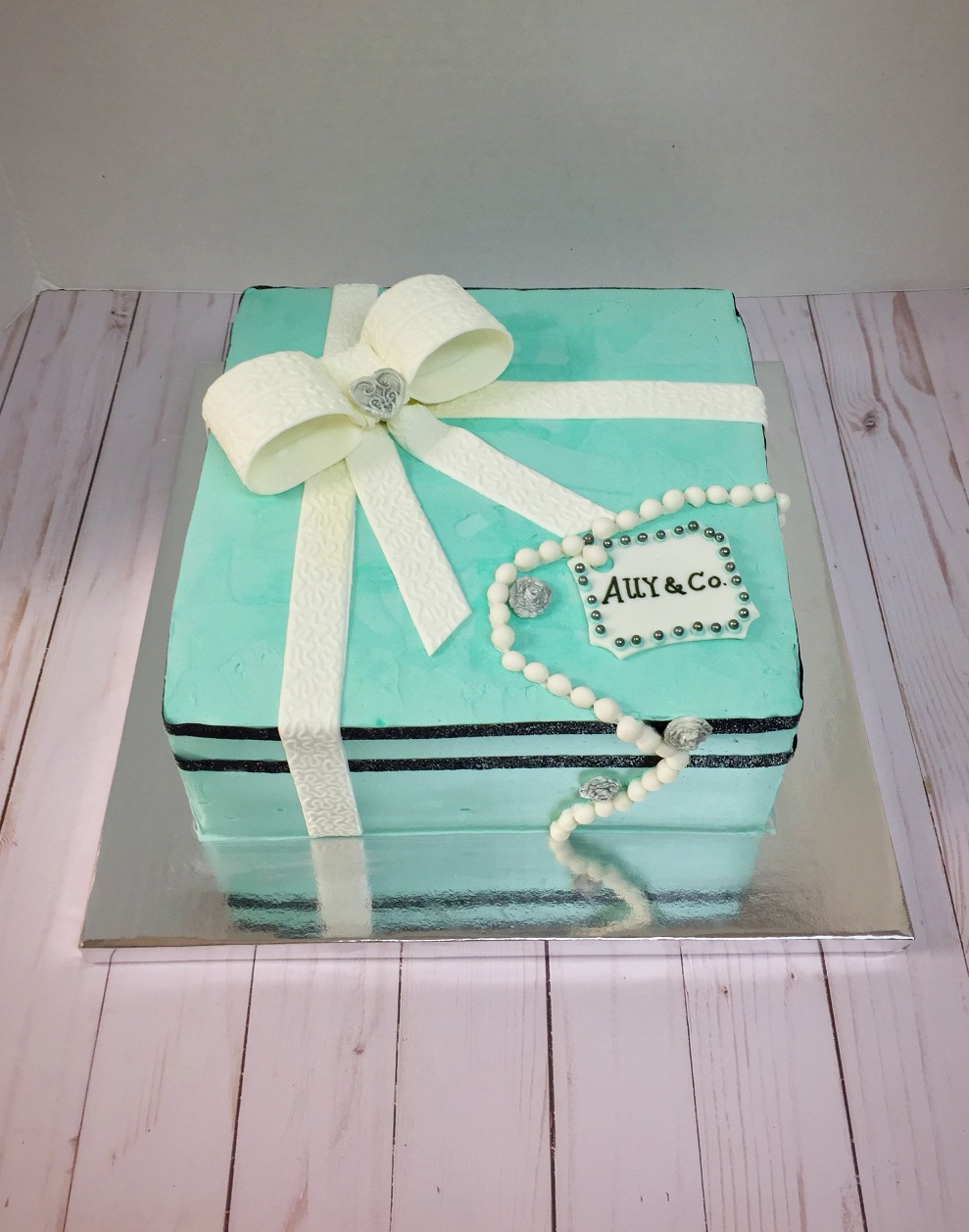 Tiffany & Co. Bridal Shower Cake