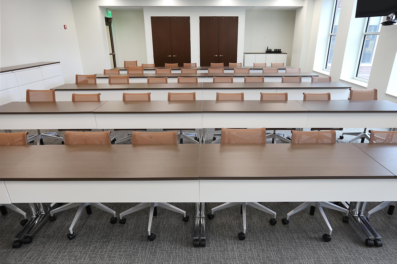Sleek Meeting Space