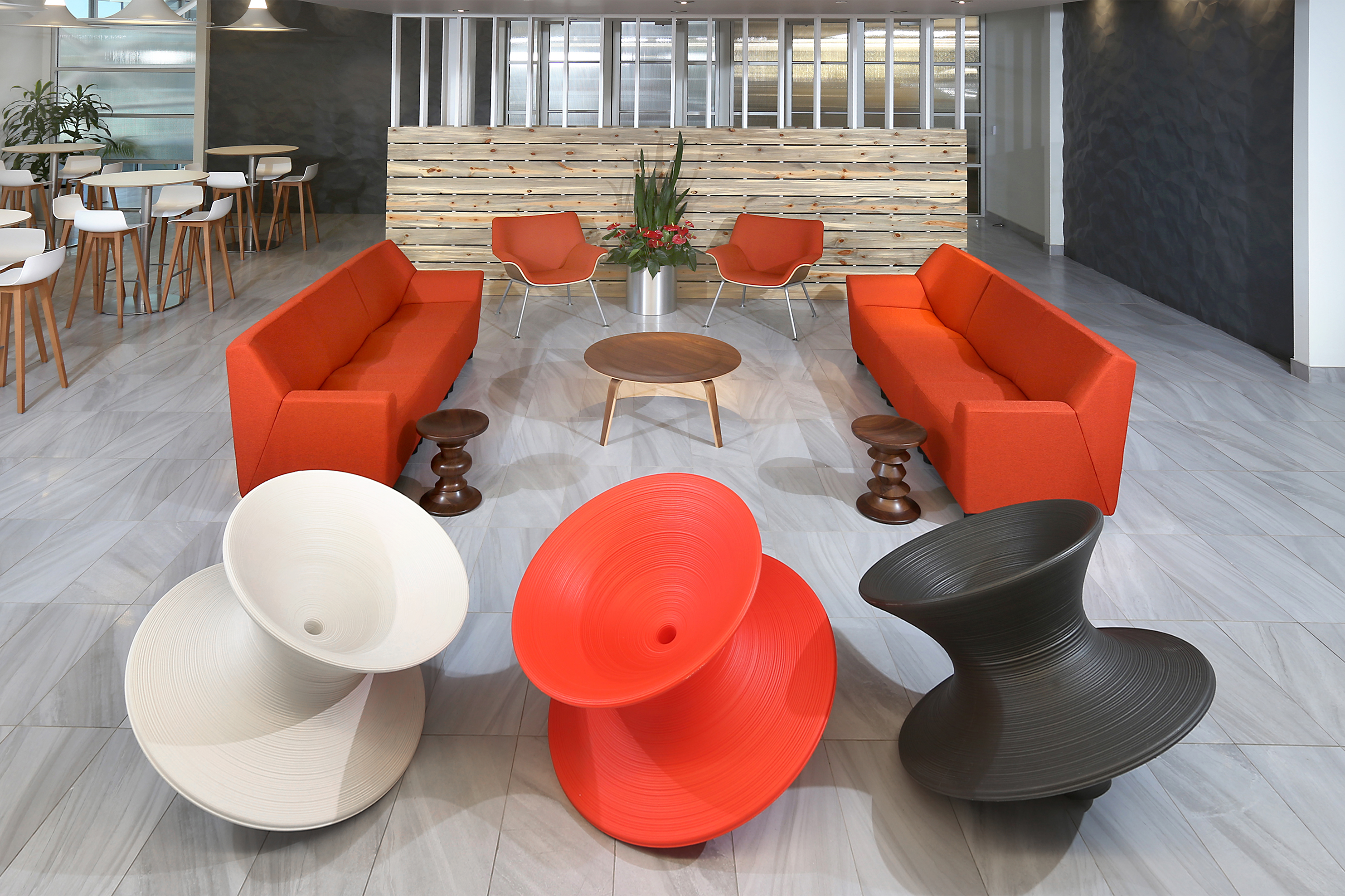 Modern Office Gathering Space
