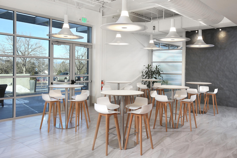 Raised Lounge Area