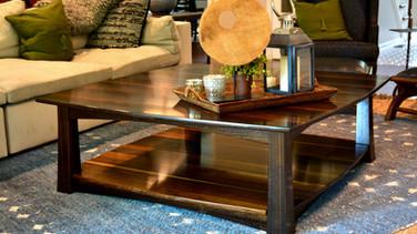 Fumed Eucalyptus Coffee Table