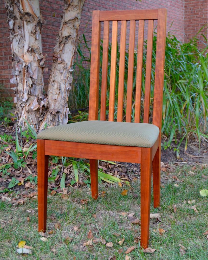 Cherry Slatback Dining Chair