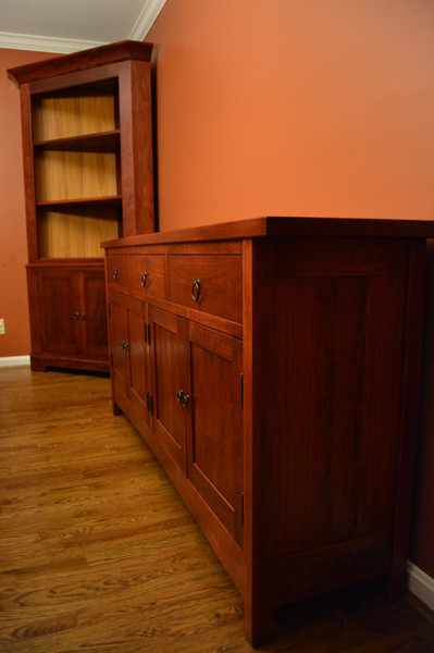 Antiqued Cherry Sideboard
