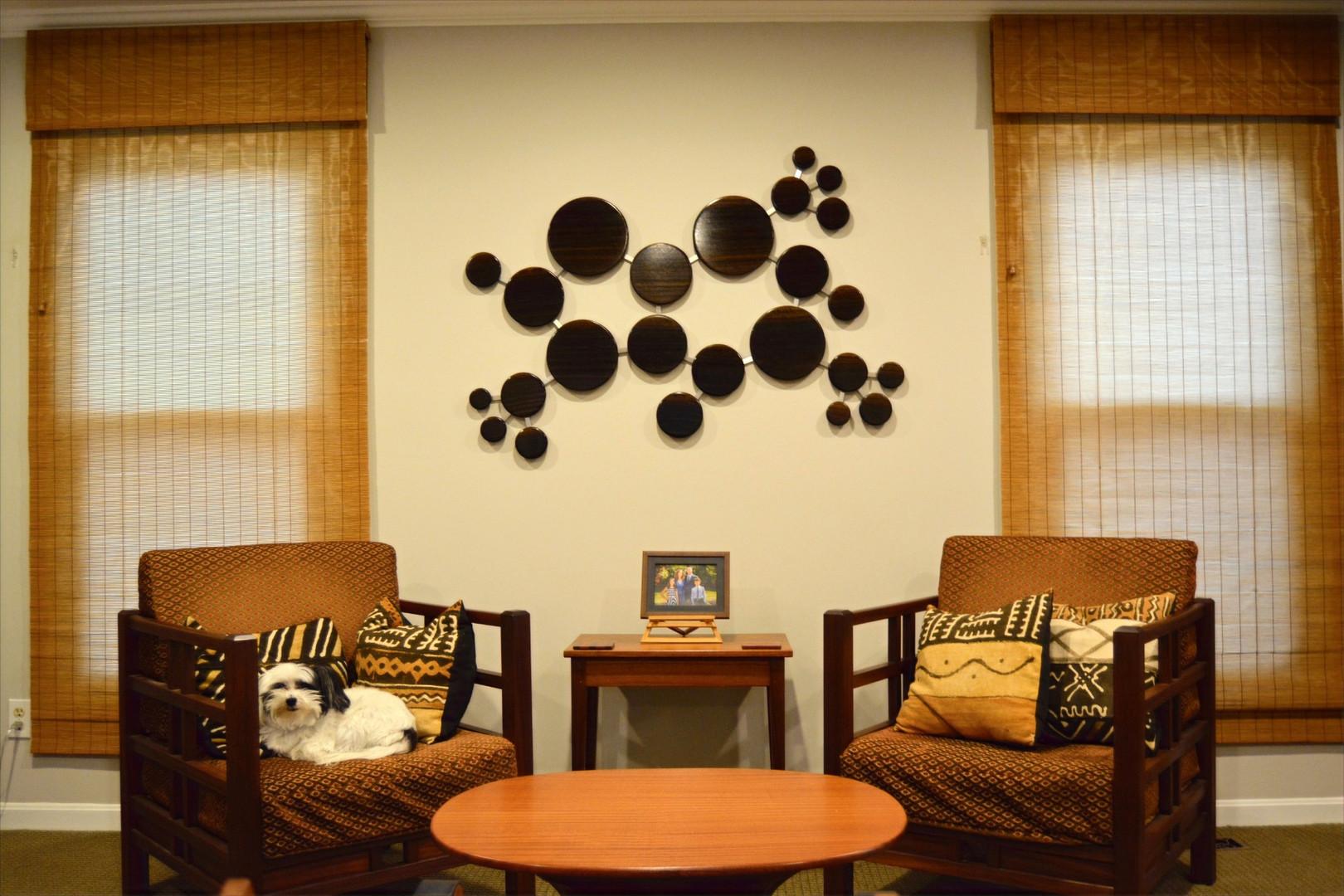 Caffeine Molecule Wall Sculpture