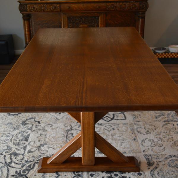 European Oak Trestle Table 2.jpeg