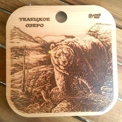 Planches en Cèdre de Sibérie/ ourse