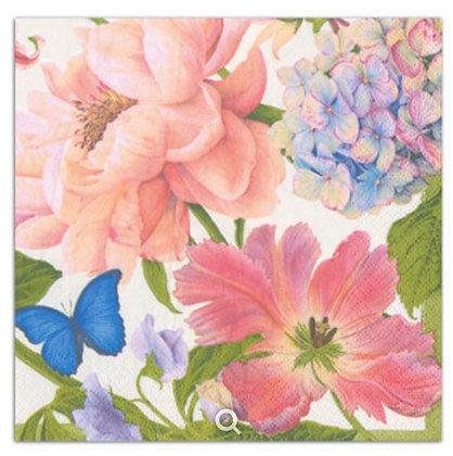 Floral Cocktail Napkins