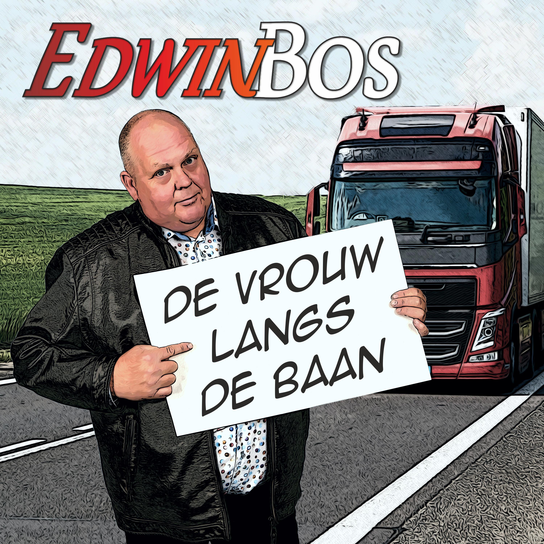 Edwin Bos - De vrouw langs de baan (fron
