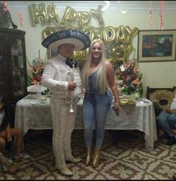 Mariachi en Chosica con Shirley Cherres