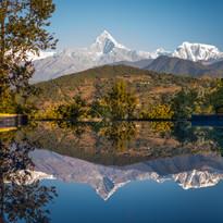 Tiger Mountain Lodge Pool Mountain Reflection