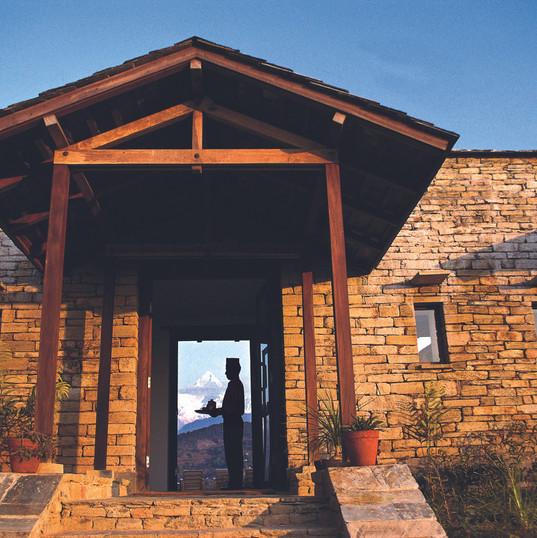 Tiger Mountain Lodge Entrance