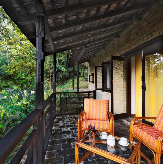 Tiger Mountain Lodge Exterior Private Verandas