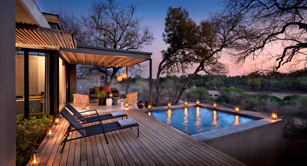 more family collection_lion sands ivory lodge_villa private deck and plunge pool_go2africa
