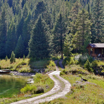 Flat Creek Ranch Wyoming Landscape