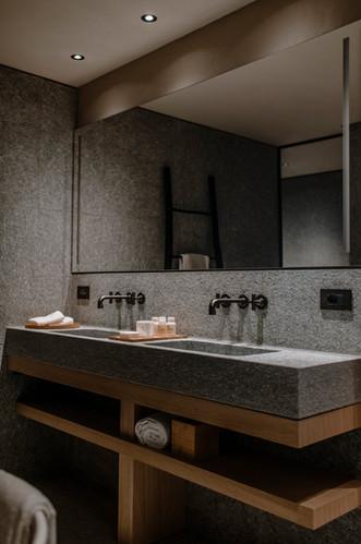Suite Bathroom at Casa di Langa in Piedmont, Italy