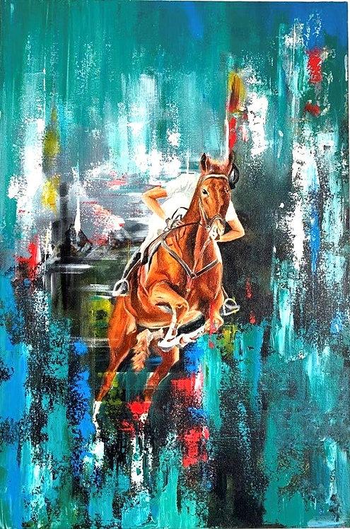 Equestrian - Jumping Horse