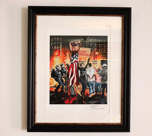 Limited Edition Prints Black Lives Matter Painting