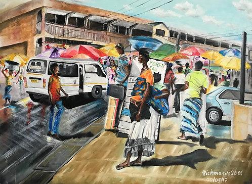 Original Oil Painting - Organised Chaos