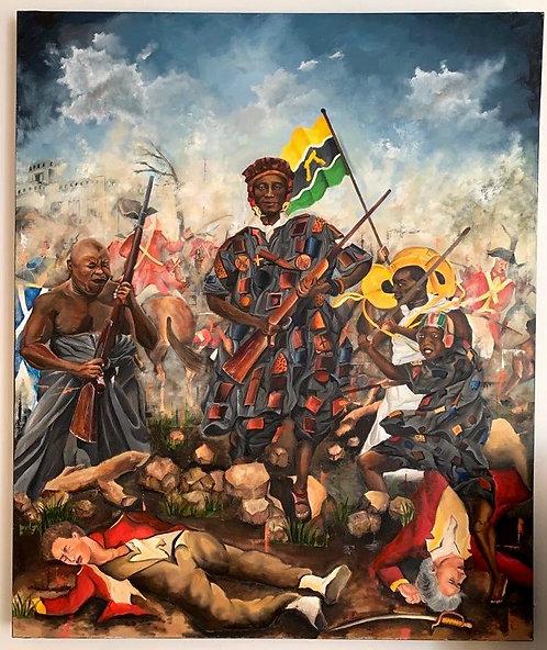 Limited Edition Prints of Yaa Asantewaa war (Golden Stool War)