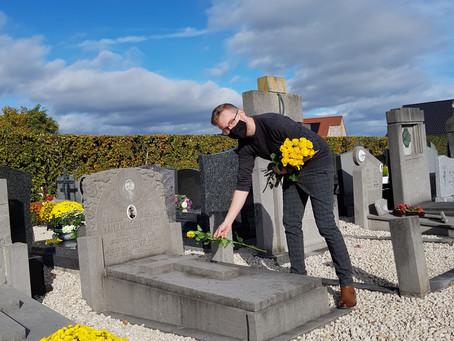 Een bloem op elk graf!