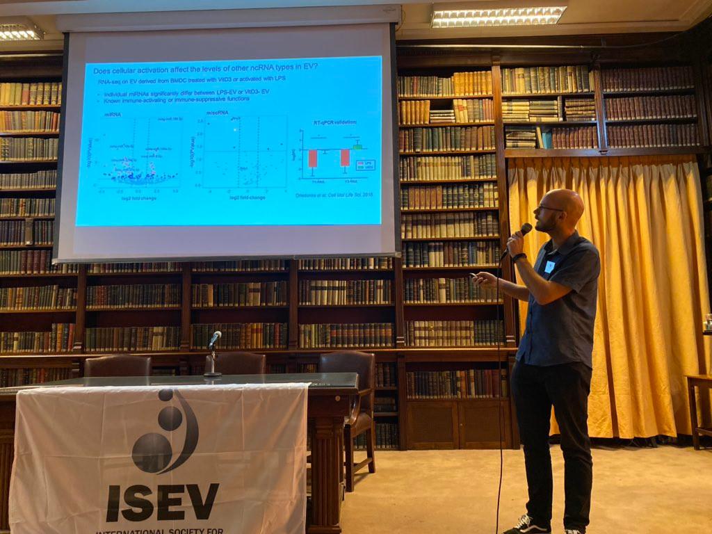 ISEV immunology workshop: day 1