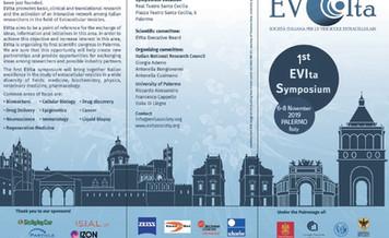 06-08 November_ EVIta- Italian Society for extracellular vesicles, 1st symposium 2019