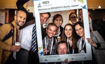 Part of ISEV 2019 twitter team