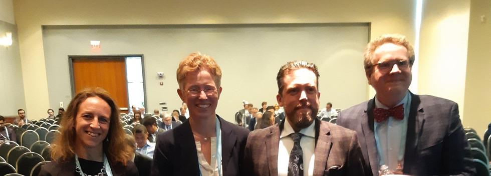 Dr Witwer had a talk at ASN Kidney week for the EVs session beside Christina Grange, Uta Erdbruegger and J. Brian Byrd