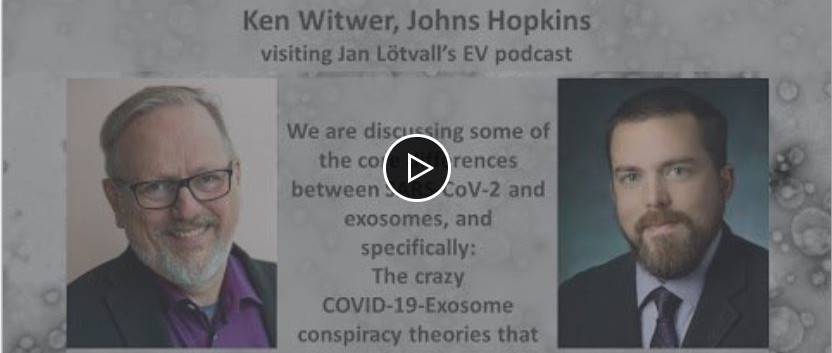 Conspiracy theories about exosomes and COVID-19. Jan and Ken Witwer come back to the comparisons...