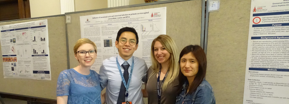 Zach's presentation at Center for AIDS Research 2019 conference, John Hopkins