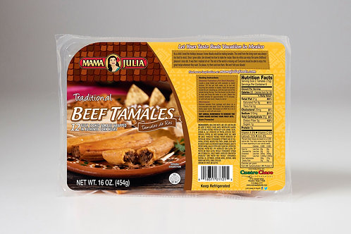 Traditional Beef Tamales