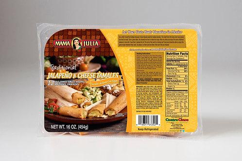 Traditional Jalapeño & Cheese Tamales