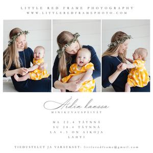 Äitienpäivän valokuvaus Lahdessa