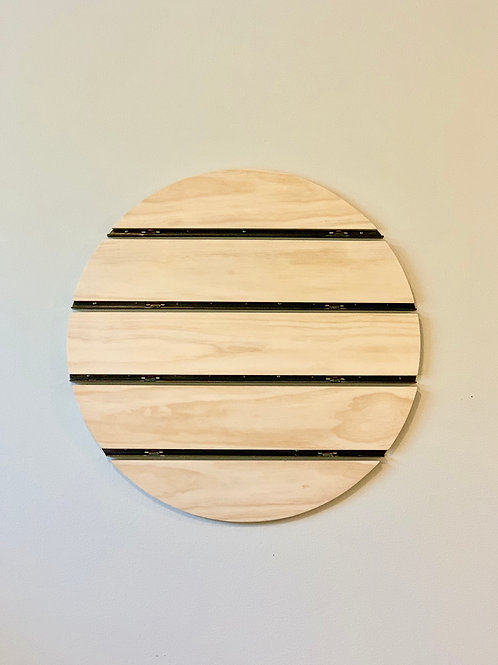 Geometric floating Shelves