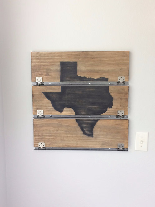 Texas Edition: Fold Down Floating Shelves