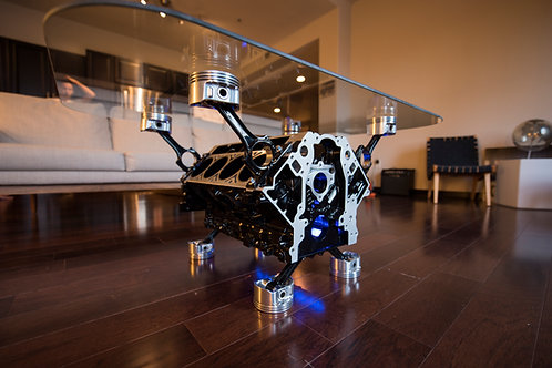 Engine Block Coffee Table made to order