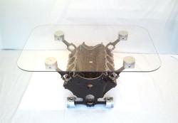 Engine Block Coffee Table V8