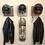 Thumbnail: Rebar Skull Helmet Rack (made to order)